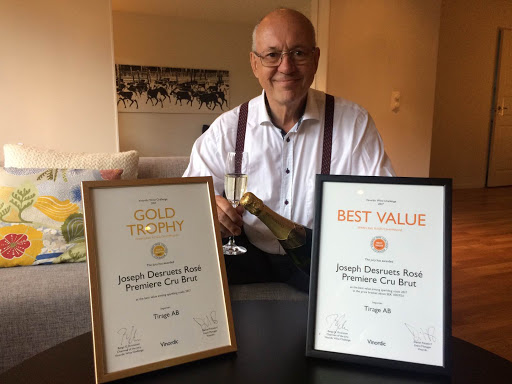 Guldmedalj Vinordic Wine Challenge 2017