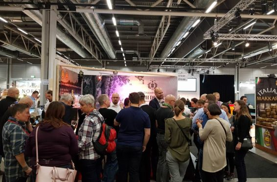 Joseph Desruets monter på sthlm food and wine 2017